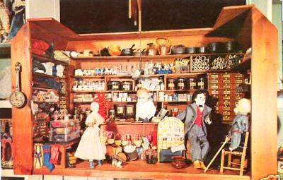 country store scene from Doll Museum