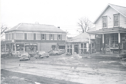The store as it appeared around 1950.