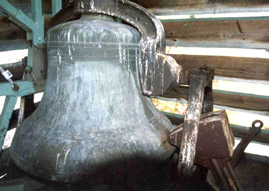 The bell at St. Henry's, Averill Park